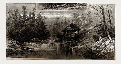 Tennessee Drawing - In And About Rugby—the English Colony In Tennessee by Litz Collection