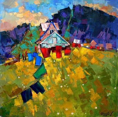 Shed Painting - In Anticipation Of The Season by Anastasija Kraineva