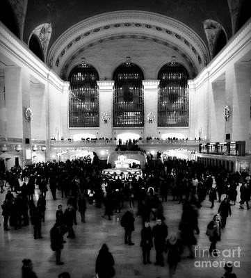 In Awe At Grand Central Art Print