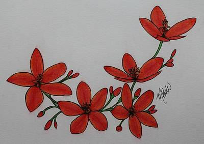 Red Roses - In Bloom by Mistina Whitlock