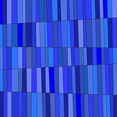 Digital Art - In Blue Please by Jeff Gater