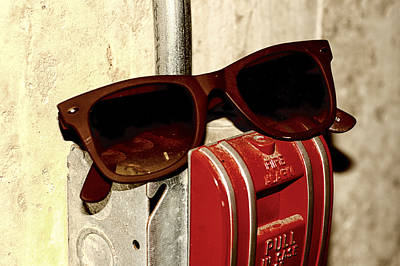 Photograph - In Case Of Fire Grab Shades by Christi Kraft