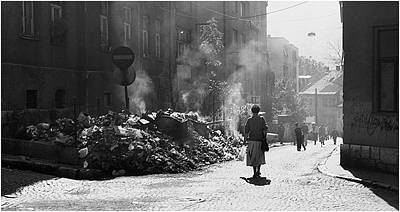 Photograph - In City Of Light Sarajevo 1992 _ Silence Before The Massacre by Mirza Ajanovic