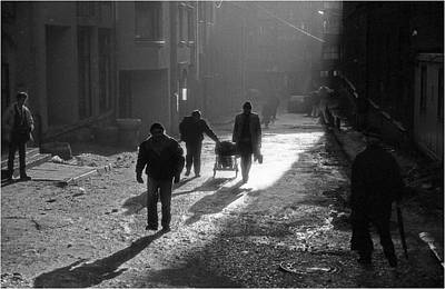 Photograph - In City Of Light  Sarajevo 1993 by Mirza Ajanovic