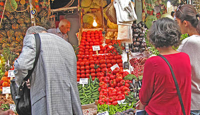 Photograph - In Contemplation Of Tomatoes by Ian  MacDonald