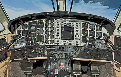 Cockpit Photograph - In Control by Patrick M Lynch