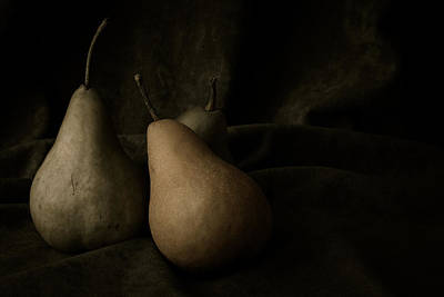 Pears Photograph - In Darkness by Amy Weiss