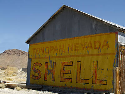 Tonopah Photograph - Tonopah Shell  by Joe Schofield