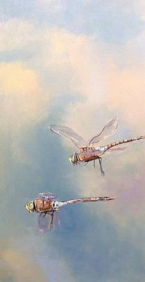 Painting - In Flight by Dianna Poindexter