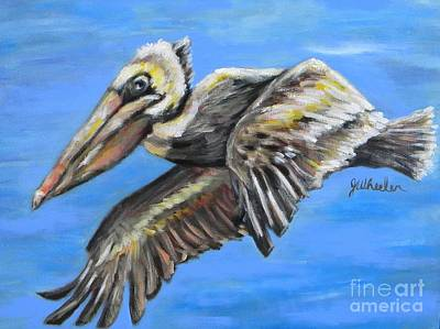 Painting - In Flight by JoAnn Wheeler