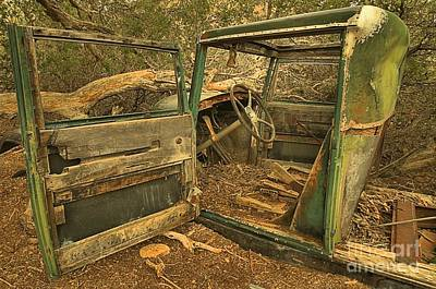 Mining Truck Photograph - In For Repairs by Adam Jewell