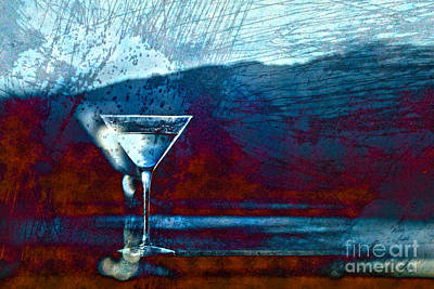 Martini Royalty-Free and Rights-Managed Images - In Good Spirits by Cynthia Lagoudakis