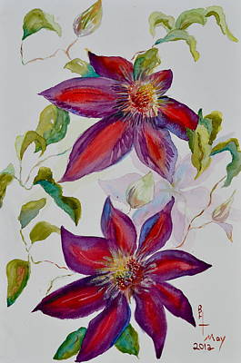 In Grandpa's Garden Art Print by Beverley Harper Tinsley