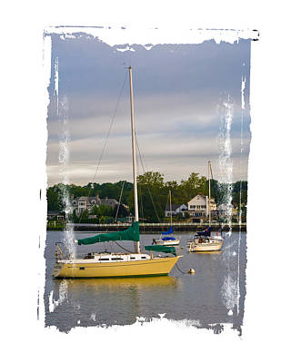 Photograph - In Harbor by Gene Hilton