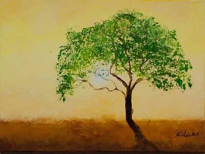 Killen Painting - In Heat by William Killen