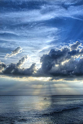 Fl Photograph - In Heaven's Light - Beach Ocean Art By Sharon Cummings by Sharon Cummings