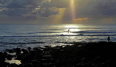Photograph - In Heavens Spotlight by Noel Elliot