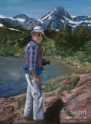 Painting - In His Element by Jeanette French
