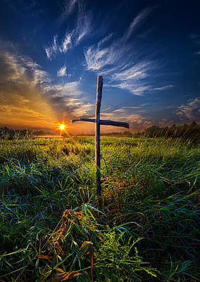 In His Glory Art Print by Phil Koch
