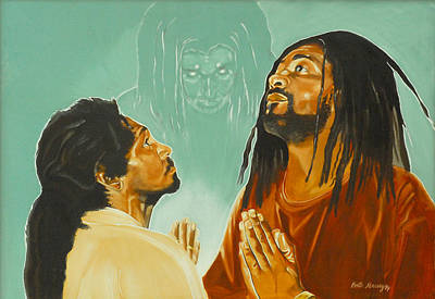 Painting - In His Presence by Belle Massey