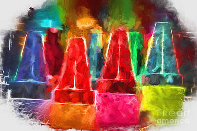 Digital Art - In Honor Of Crayons by Margie Chapman