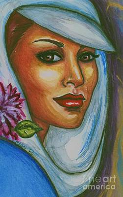 Art Print featuring the mixed media In Living Color by Alga Washington