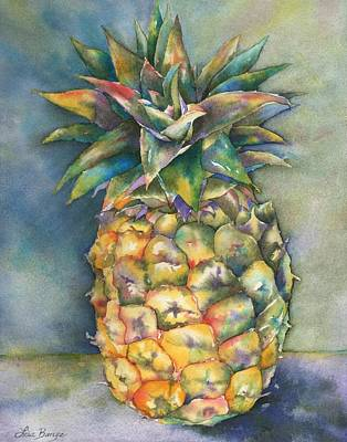 Tropical Fruit Painting - In Living Color by Lisa Bunge