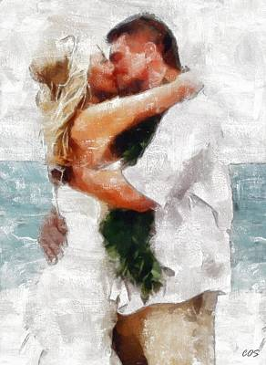 Digital Art - In Love For Life by Carrie OBrien Sibley