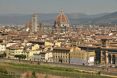In Love With Firenze - 2 Art Print