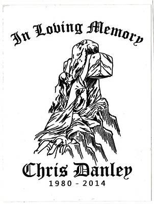 Drawing - In Loving Memory by Joni McPherson