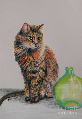 Drawing - In Memory Of Ohmie by Lora Duguay