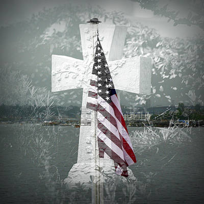 In Memory Of Those Who Died On 9-1-1 Art Print