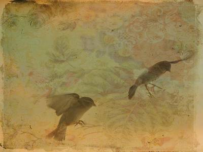 Little Bird Digital Art - In Motion by Gothicrow Images