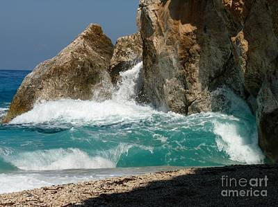 Lefkada Photograph - In Motion by MAK Photography