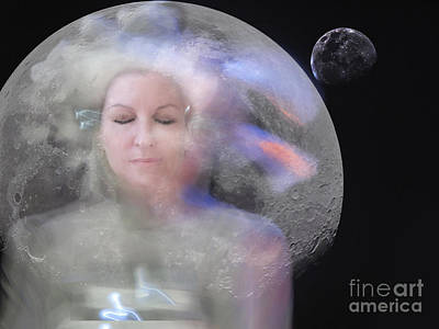 Digital Art - In My Bubble by Angelika Drake