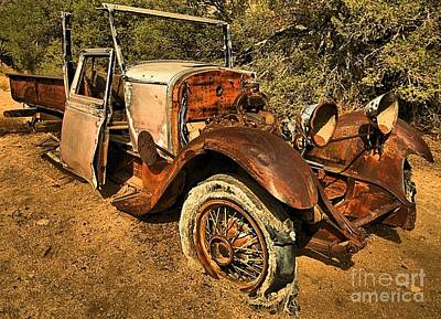 Mining Truck Photograph - In Need Of A Spare by Adam Jewell