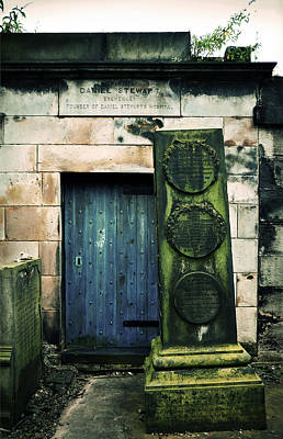 Photograph - In Old Calton Cemetery by RicardMN Photography