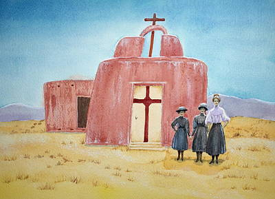 Painting - In Old New Mexico II by Michele Myers