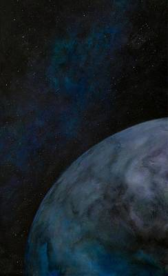 Painting - Outer Planet by Patrick Zgarrick