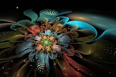Kim Digital Art - In Orbit by Kim Redd
