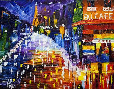 In Paris #2 Original by Natasha Petrosova