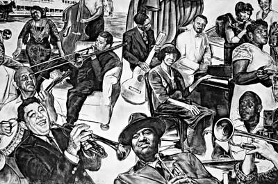 In Praise Of Jazz II Art Print by Steve Harrington