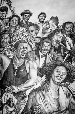 In Praise Of Jazz Print by Steve Harrington