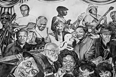 In Praise Of Jazz V Art Print by Steve Harrington