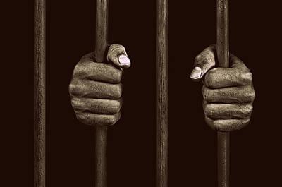 In Prison Art Print by Chevy Fleet