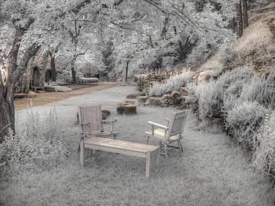 Infared Photograph - In Quiet Places by Jane Linders
