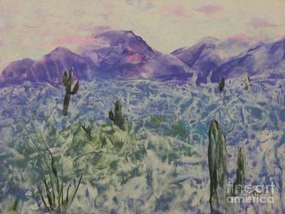 Painting - In Quietness And Trust by Lynn Quinn