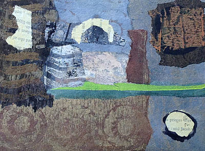 Art Print featuring the mixed media In Ruins by Catherine Redmayne