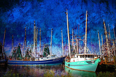In Safe Harbor Art Print by Barry Jones