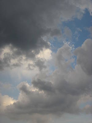 Photograph - In Sorrowful Clouds by Guy Ricketts